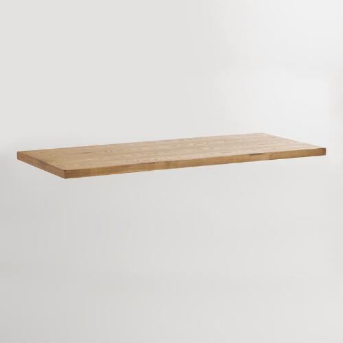Natural Wood Colton Mix & Match Desk Top