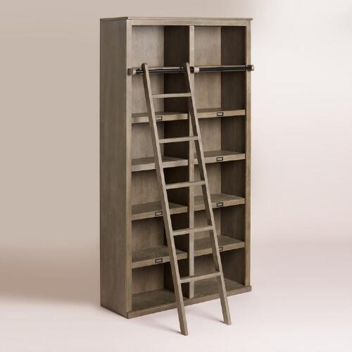 Gray Augustus Library Shelving