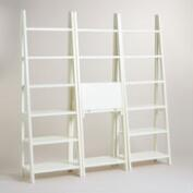 White Lacquer Josephine Bookcase Collection