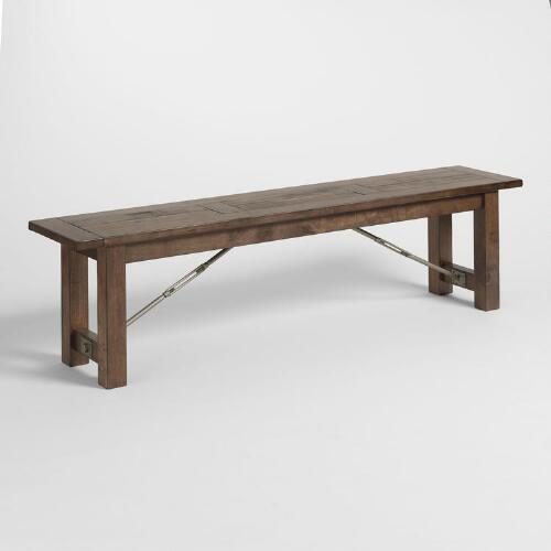 Wood Garner Dining Bench
