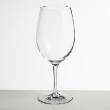 High-Impact Acrylic Bordeaux Stemware, Set of 4
