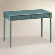 Agate Green Wood Farran Writing Desk