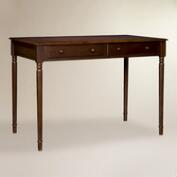Espresso Wood Farran Writing Desk