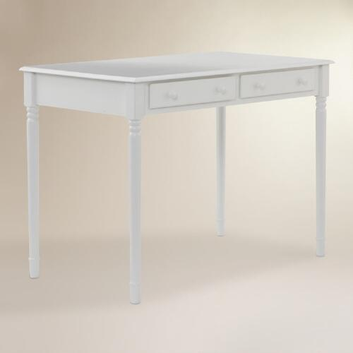 White Wood Farran Writing Desk