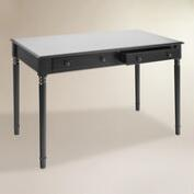 Black Wood Farran Writing Desk