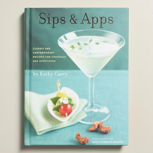 """Sips and Apps"" Cocktail and Appetizer Recipe Book"