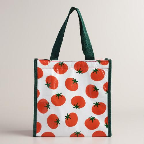 Tomato Mini Insulated Tote