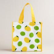 Lemon and Lime Mini Insulated Tote