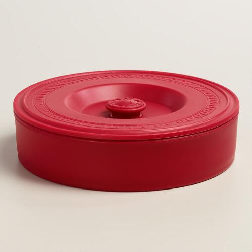 Red Vaso Tortilla Warmer