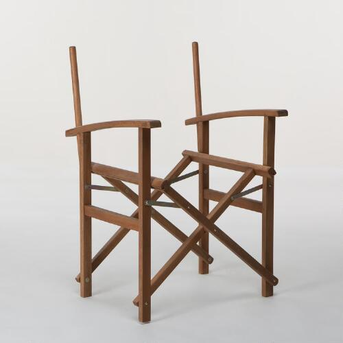 Natural Bali Club Chair Frames, Set of 2