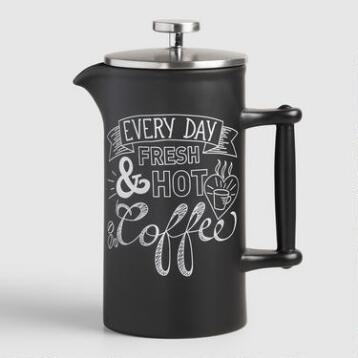 Chalk Ceramic French Press