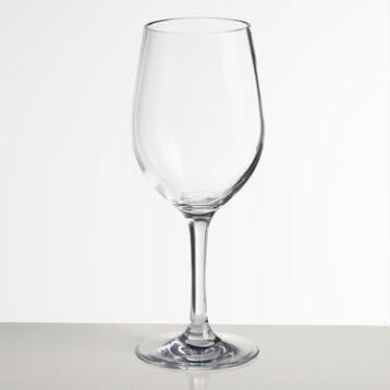 Acrylic Chardonnay Glasses, Set of 4