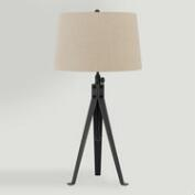 Dark Bronze Adjustable Lamont Tripod Table Lamp