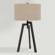 Iron Industrial-Style Langston Tripod Table Lamp