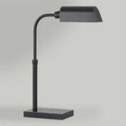 Dark Bronze LED Adjustable Pharmacy Desk Lamp