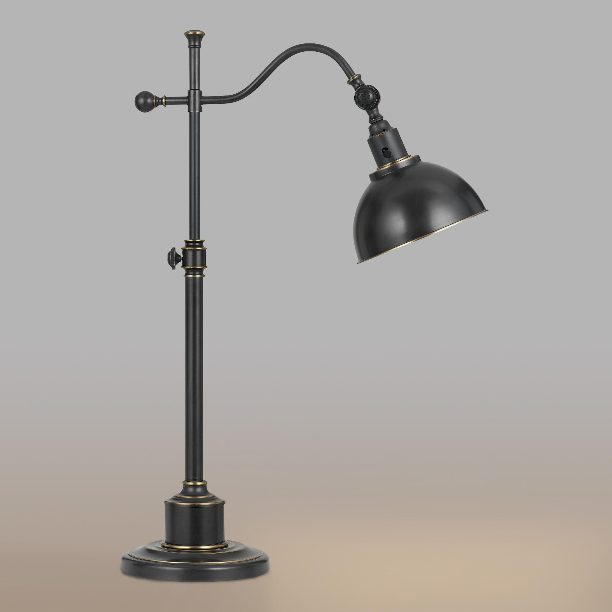 Oil Rubbed Bronze Porter Task Table Lamp