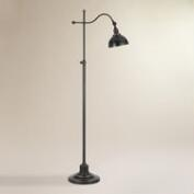 Oil-Rubbed Bronze Porter Task Floor Lamp