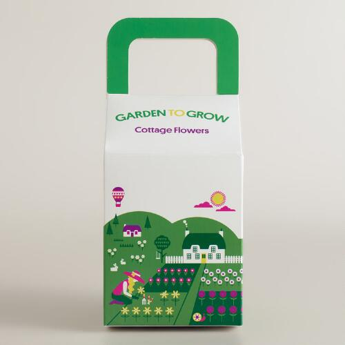 Garden to Grow Cottage Flowers Kit