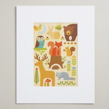 Small Forest Parade Wall Art