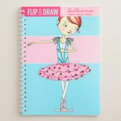 Ballerinas Flip and Draw Activity Book