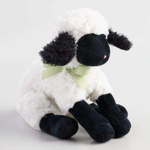 Plush Stuffed Lamb