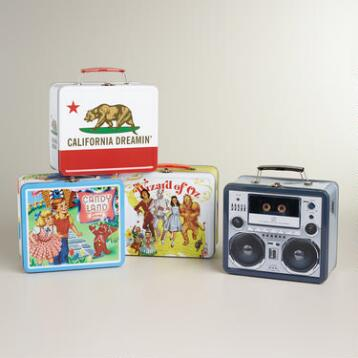 Tin Lunchboxes