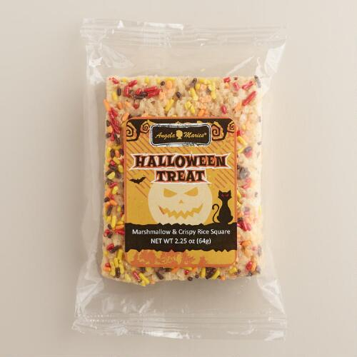 Marshmallow and Crispy Rice Munchie Halloween Treat