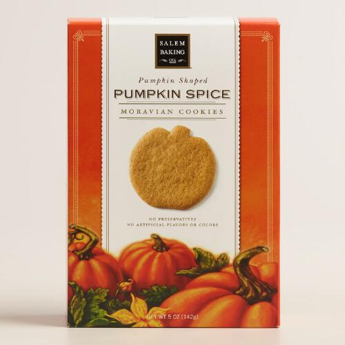 Salem Pumpkin Spice Moravian Cookie Box