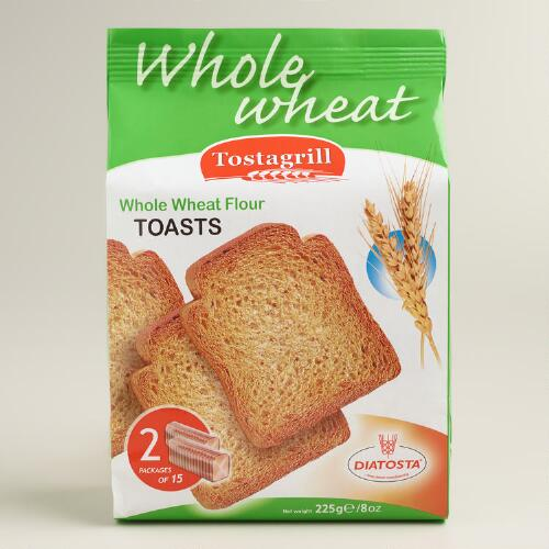 Diatosta Whole Wheat Toasts
