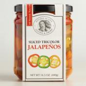 Cucina & Amore Tri-Colored Sliced Jalapenos