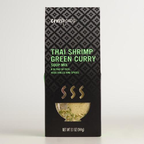 Crossroads Thai Shrimp Green Curry Soup