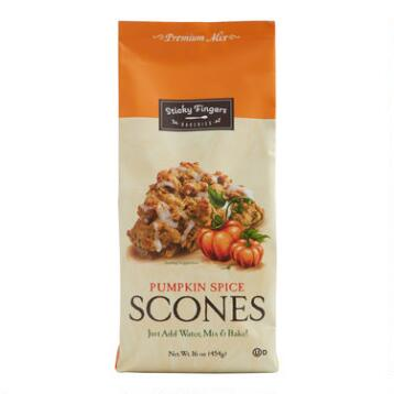 Sticky Fingers Pumpkin Spice Scone Mix, Set of 6