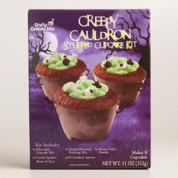 Creepy Cauldron Cupcake Kit