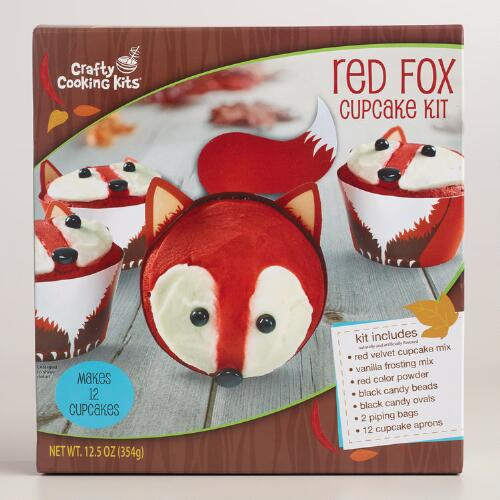 Red Fox Cupcake Kit