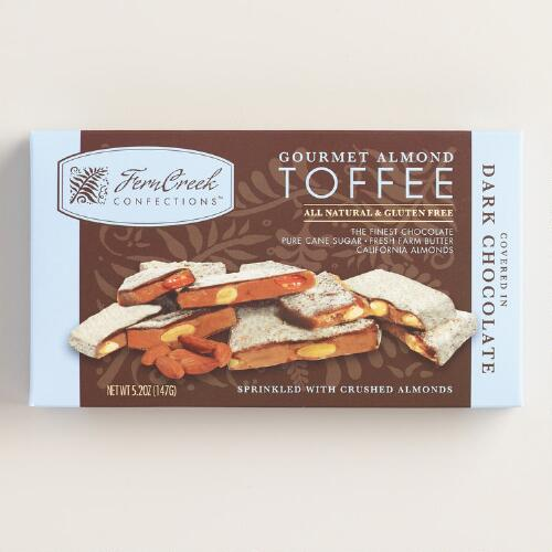 Ferncreek Dark Chocolate Sea Salt Almond Toffee