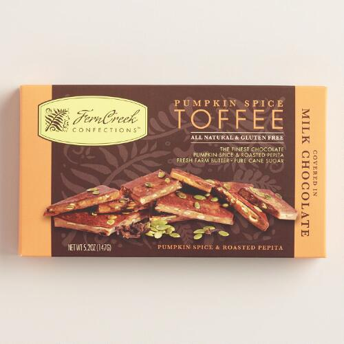 Ferncreek Milk Chocolate Pumpkin Spice Toffee