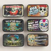 Day of the Dead Mint Tin Set of 6