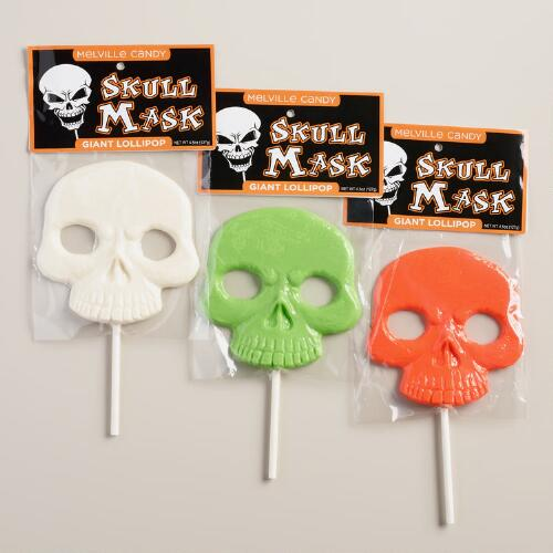 Melville Skull Mask Lollipop