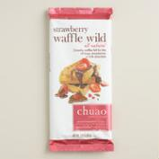 Chuao Strawberry Waffle Milk Chocolate Bar