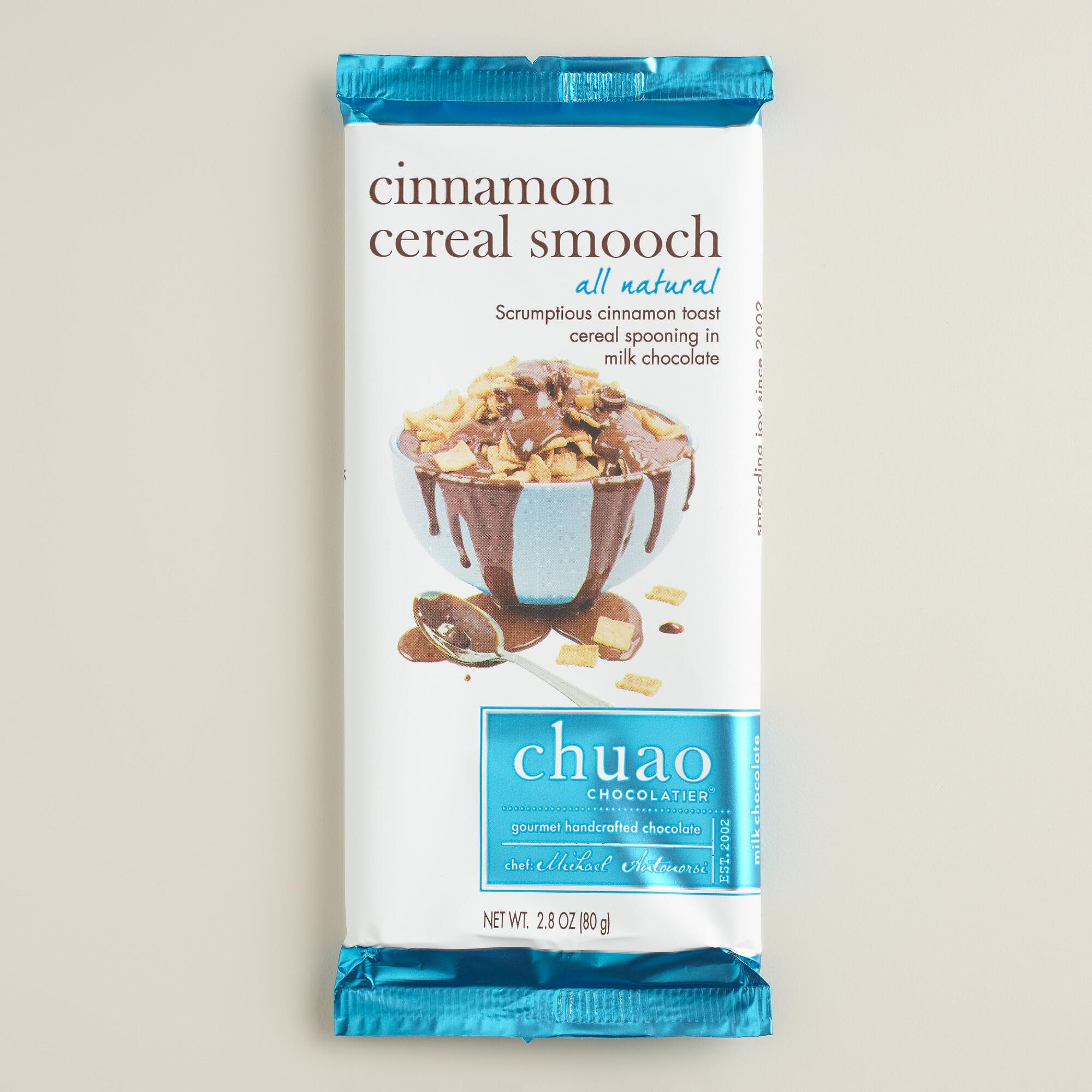 Chuao Cinnamon Cereal Milk Chocolate Bar