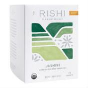 Rishi Jasmine Green Tea, 15-Count