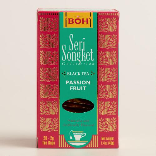 BOH Seri Songket Passion Fruit Tea, 20-Count