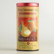 The Republic of Tea Pear Cinnamon Cream Tea, 50-Count