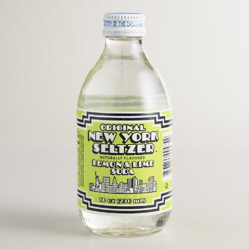 Lemon and Lime Original New York Seltzer