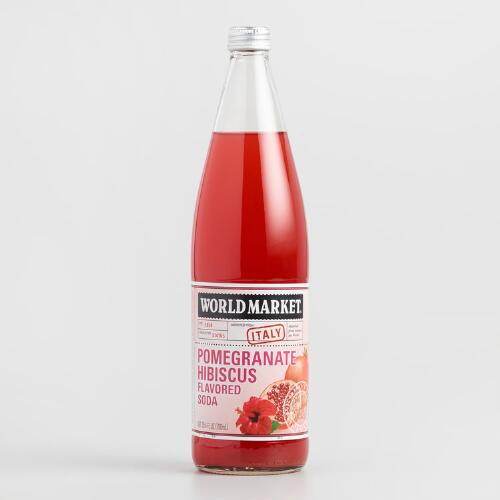 World Market® Hibiscus Pomegranate Italian Soda