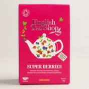 English Tea Shop Super Berries Tea, 20-Count