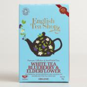 English Tea Shop White Blueberry Tea, 20-Count