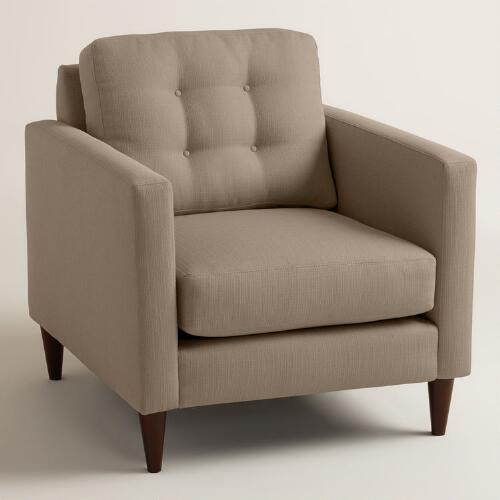 Textured Woven Ryker Upholstered Chair