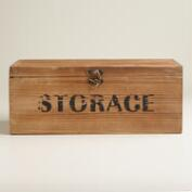 Wood Marcus Storage Box