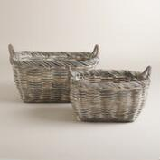 Gray Kubu Grigio Baskets